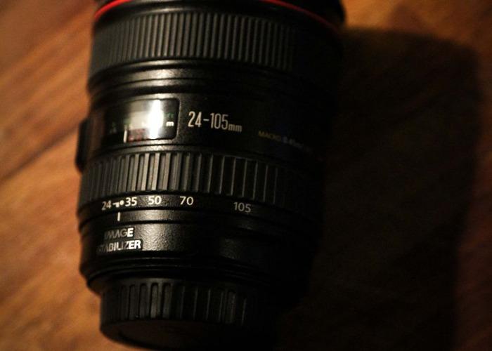 24-105mm f4 EF  Canon Lens - 1