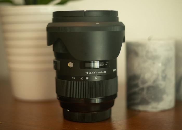 24-35mm Sigma Lens EF MOUNT  - 2