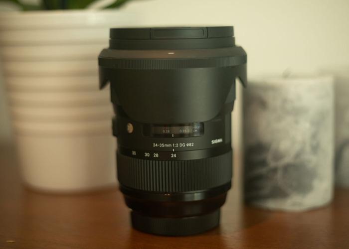 24-35mm Sigma Lens EF MOUNT  - 1