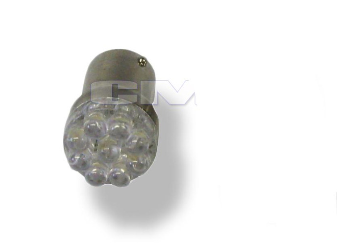 245/Ba15S 9 LED Bulb Lighting Lamp Replace Spare Part Replacement White - 1