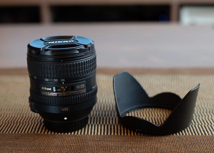 24-85mm f3.5-4.5G ED VR Nikkor lens for Nikon - 1