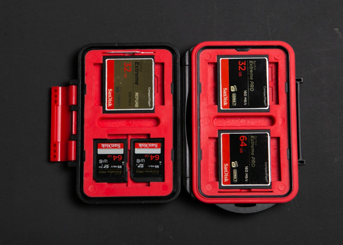 256GB Sandisc memory cards CF, SD /compact flash, safe disk - 1