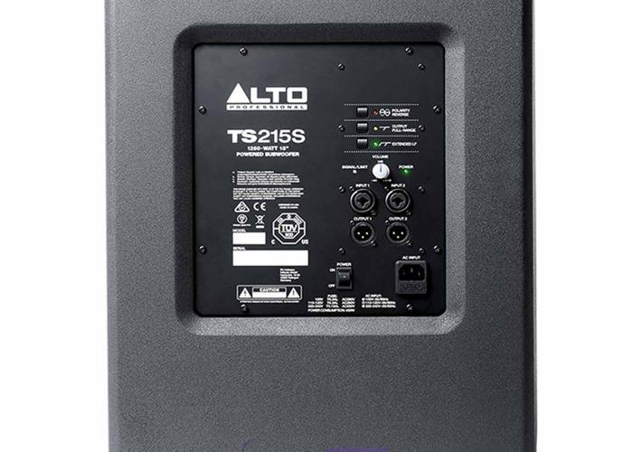2.5K Alto Powered Subs TS215A - 2