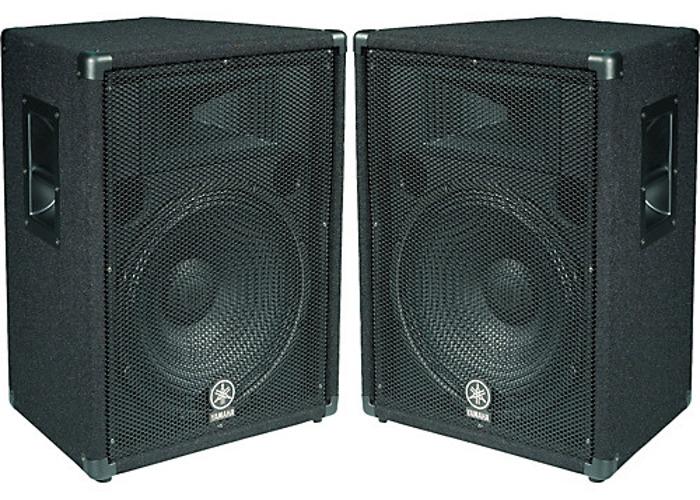 2kw Yamaha PA System Speakers  - 1