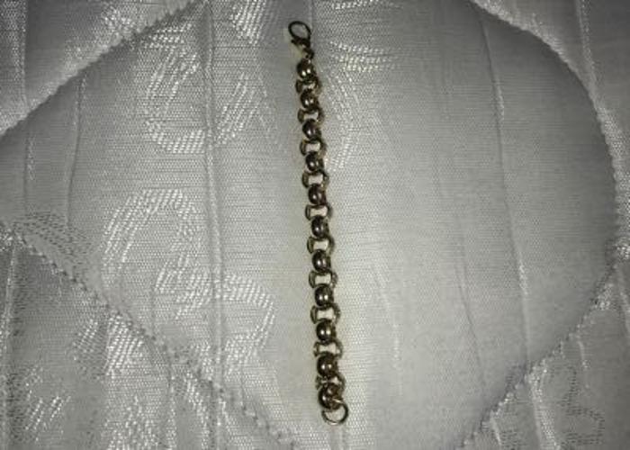 2ounce(53.5g) gold belcher bracelet  - 1