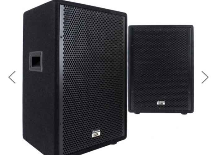PA system (Speakers)  - 2