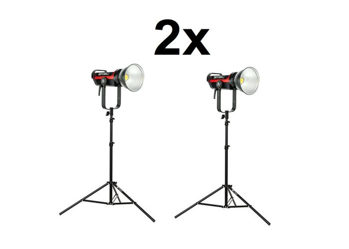 2x Aputure 300D Mark ii - Led Film Photo lights - 1
