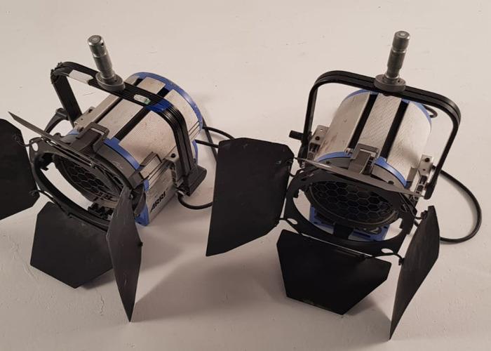 2x Arri 2K 2000w Watt Fresnel T2 Light - 1