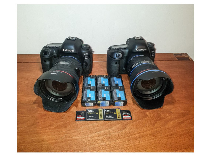 2x Canon 5D Mark IV and 24-70mm 2.8 II L USM Lenes Canon 5D 4 24 70 - 1
