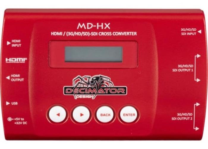 2x Decimator Design MD-HX HDMI/SDI Cross Converter for 3G/HD - 1