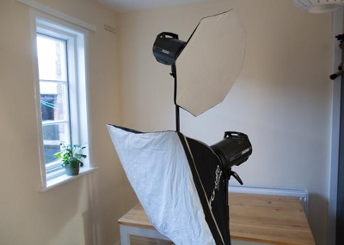2x Elinchrom BRX 500 studio flashes - 2
