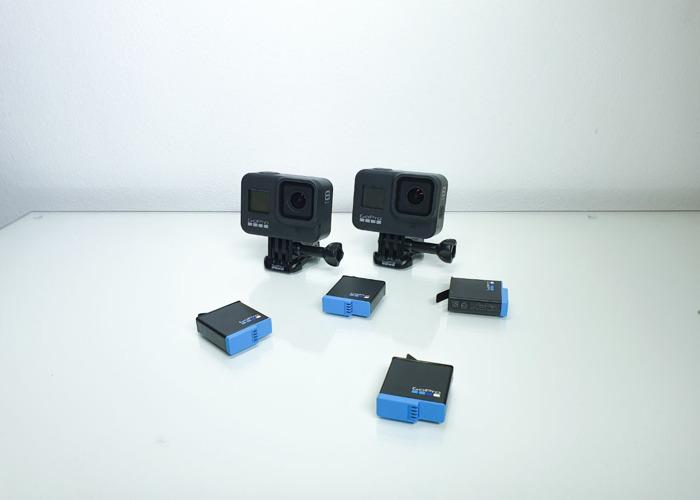 2x Go Pro 8 Black - 2