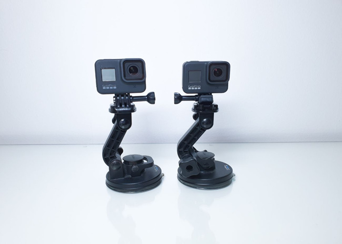 2x GoPro 8 + suction mount - 1