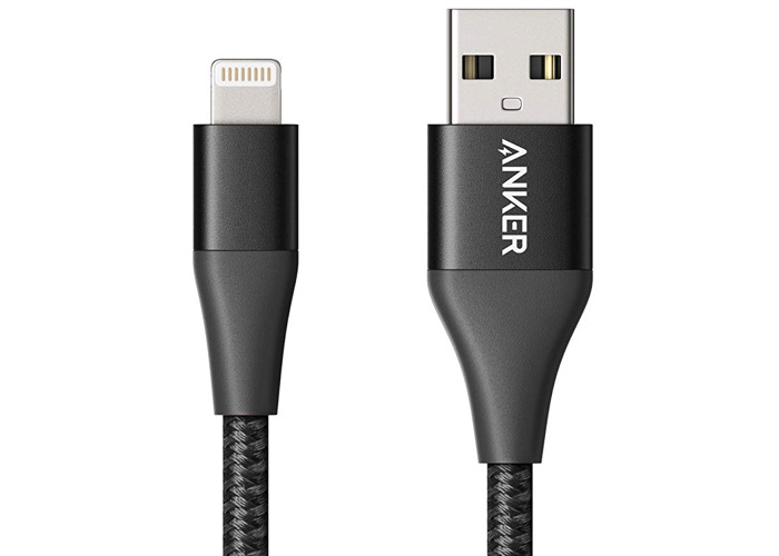 2x Apple iPhone Anker PowerLine+ II Lightning USB Cable MFI Certified •[3ft/6ft]•[Red/Black]• - 2