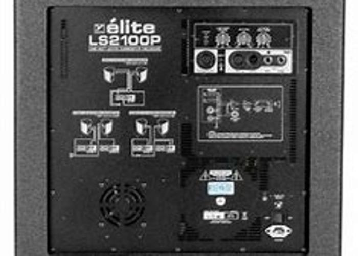 3600(7200) Watt Amplifier Peak 2X YORKVILLE SUBWOOFER SPEAKER LS2100P - 2
