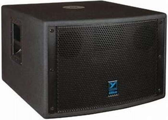 2X LS700 (2400) PEAK WATTS YORKVILLE SUBWOOFERS WITH DBX PA2 DRIVERACK - 1