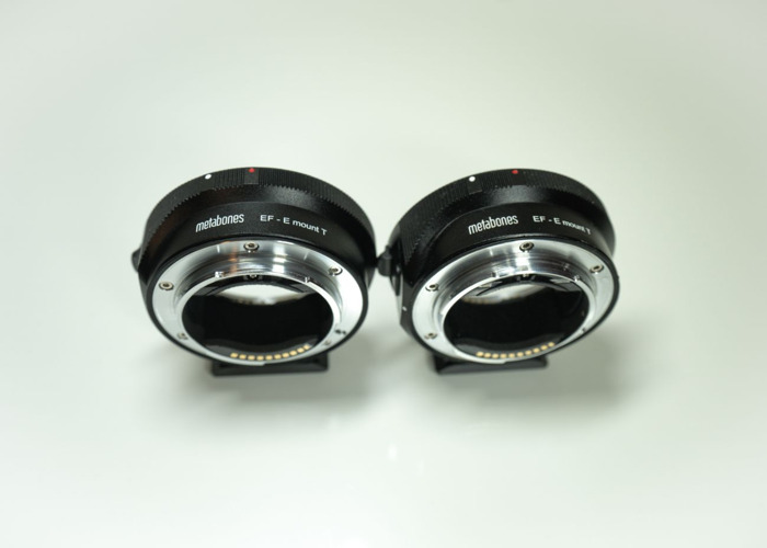 2x Metabones Canon EF to Sony E-Mount Adapter, London - 2
