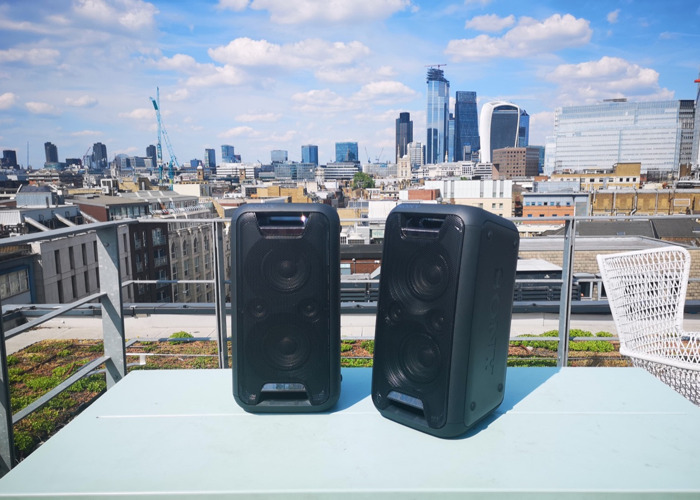 2X PORTABLE SPEAKERS! [OUTDOOR &INDOOR USE] 14hr BATTERY LIFE  - 2