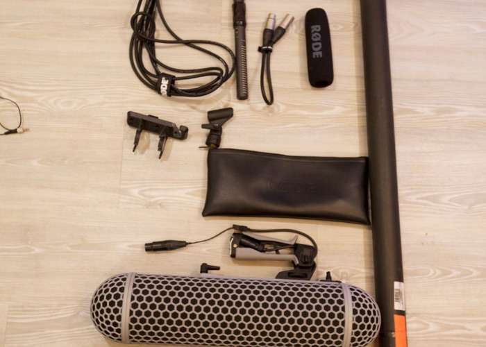 SOUND PACKAGE -  2 x radio mics, top mic and boom mic - 1