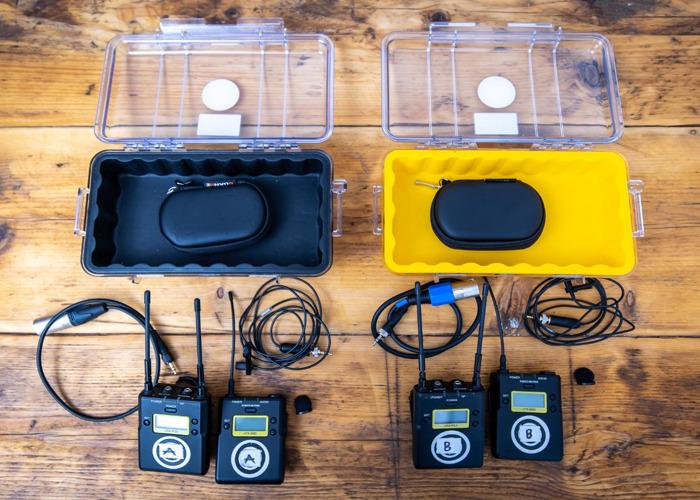 2x Sony UWP-D11/K33 Radio Microphone Sets - 2