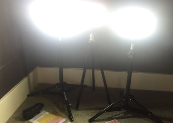 3 Light Kit For Filming And Photography LED With Stands - 2