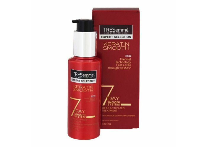 (3 Packs x  120ml)TRESemme Keratin Smooth 7 Day Heat Activated Treatment BARGAIN - 1