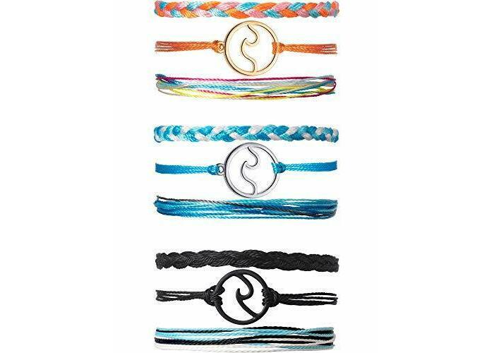 3 Sets Wave Bracelet Braided Rope Set Adjustable Friendship Bohemian Handmade Wa - 2