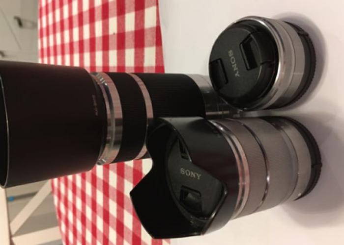 3 Sony E-mount lenses - 1