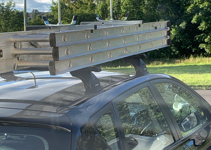 3 tear extention Ladder  - 1