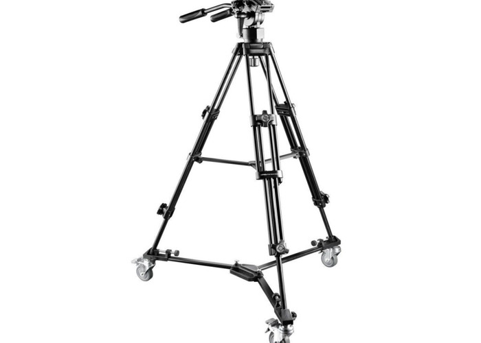 3 Wheels Tripod Dolly For Video Camera - 2