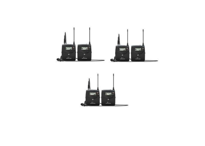 3 wireless body microphone lapel handfreeRadio Sennheiser 3G - 2