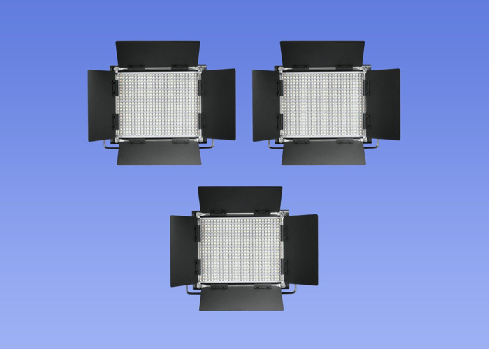3 x 660 LED Video Light Neewer Dimmable Bi-color - 1