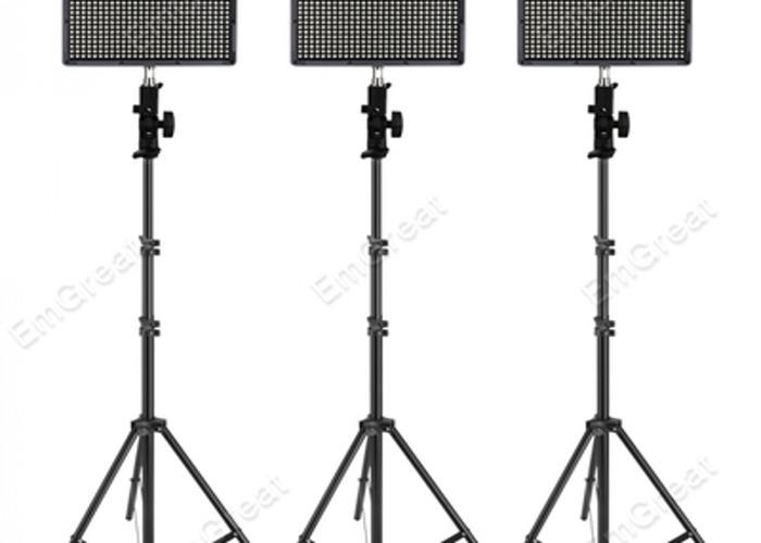 3 x Aputure Amaran 528 LED light kit - 2