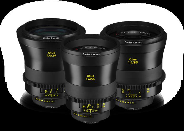 3 x Zeiss Otus ZE 3-Lens - 85 mm, 55mm, 28mm - 1