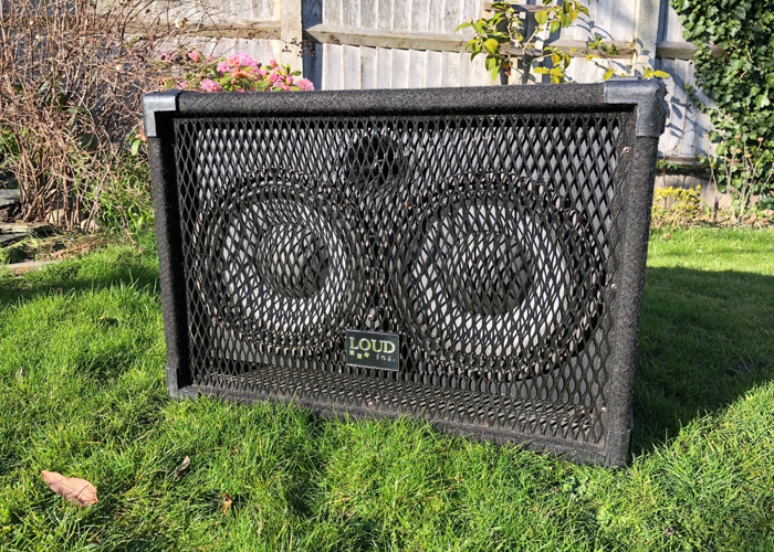 300W 2x10 Bass Cabinet with Horn. - 1