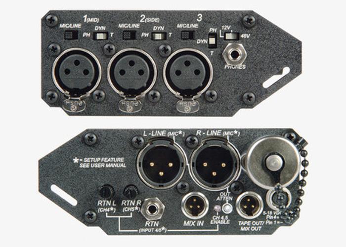 302 Portable 3 Channel Field Mixer - 1
