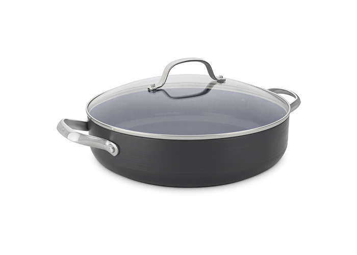 30cm Shallow Casserole with Lid 4.8L - 1