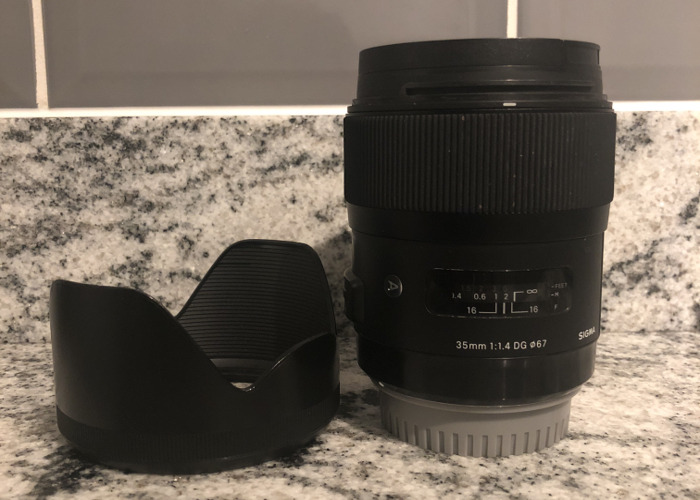 35mm 1.4 sigma Art lens for Canon - 1