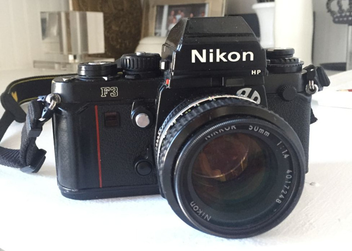 35mm Film Camera - Nikon F3HP Kit - 1