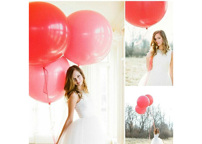 36 Inch Big Size Latex Balloon Photo Prop Wedding Party Decoration - 2
