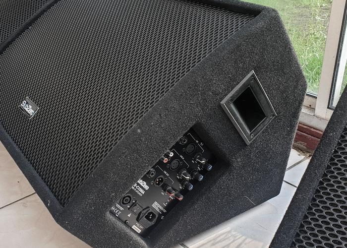 """3x Active Floor Monitors 2x SubZero 350w 12"""" 1xSubZero 400W  - 2"""