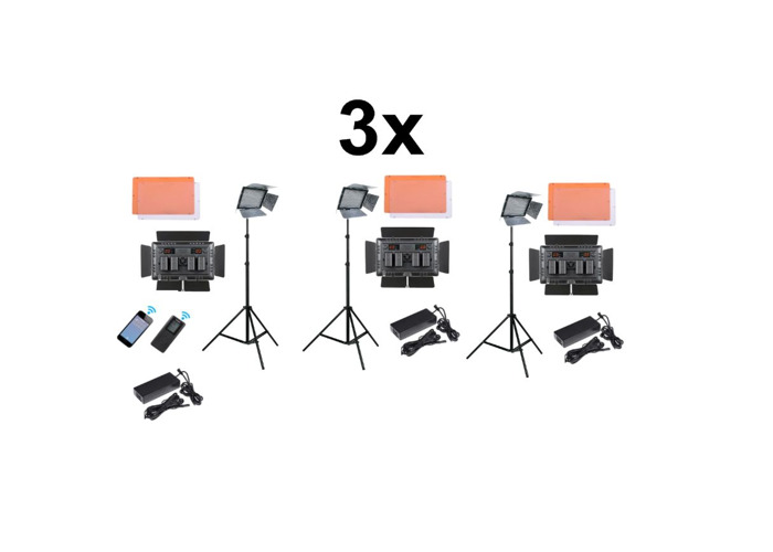 3x Film Lights - Yongnuo YN1200 LED Video Light Panels   - 1