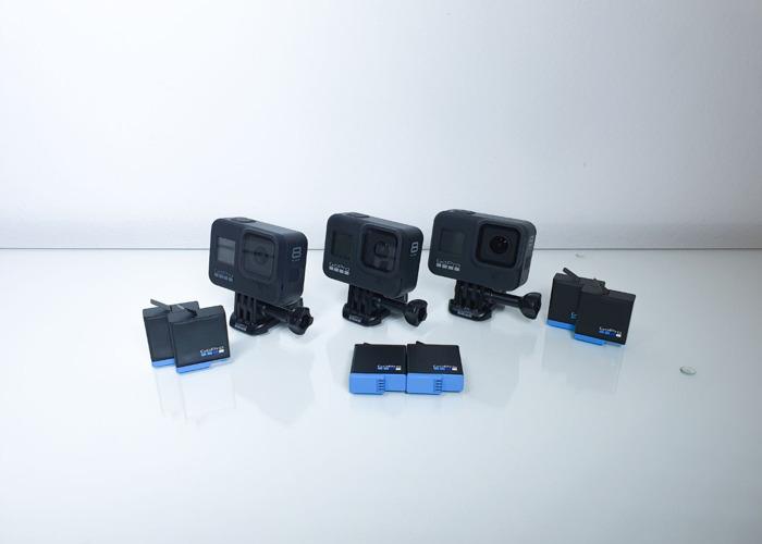 3x Go Pro 8 Black - 1