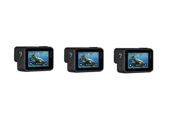 3x GoPro HERO 7 Black CHDHX-701-RW Action Camera - 2