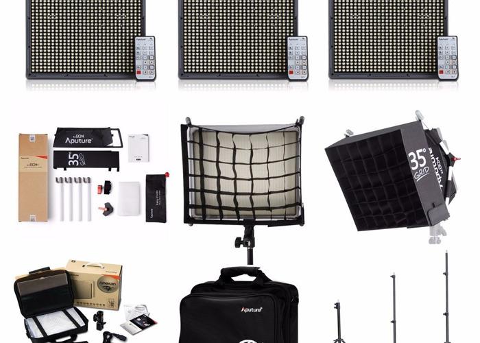 3x LED Light Panel Kits - 1