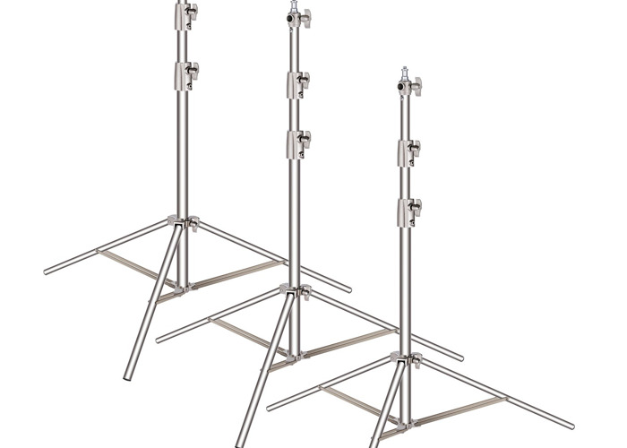 3x Steel Light Stand - 1