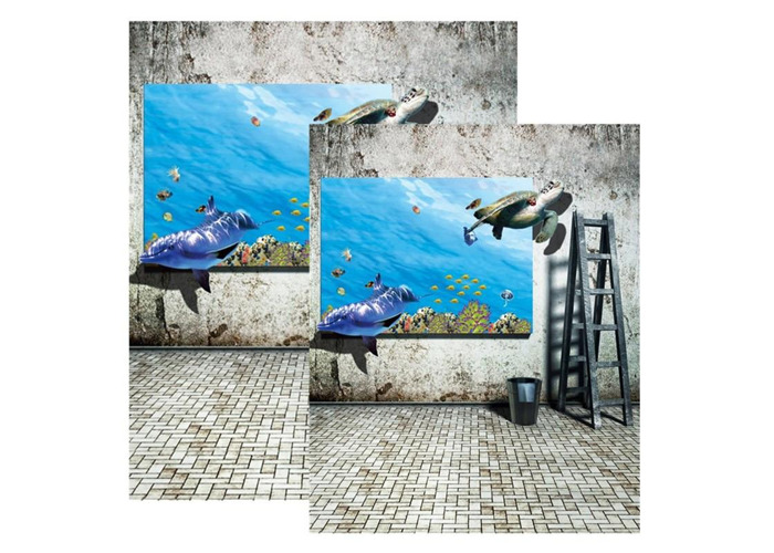 3x5FT 5x7FT Retro Wall Sea Poster Photography Backdrop Background Studio Prop - 1