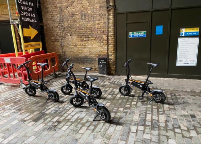 4 electric  bikes  - 1