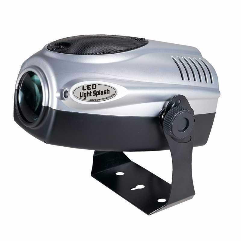 4 Light Disco Lights Package with Smoke Machine - 2