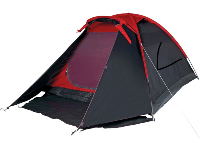 4 Man 1 Room Dome Tent - 1